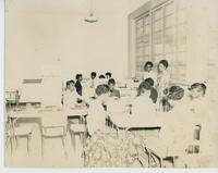 Booker T. Washington Junior College Students in a Classroom