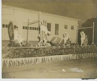 Booker T. Washington Junior College Student on a Homecoming Float