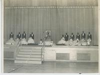Miss Washington Junior College 1962 with Members of her Court